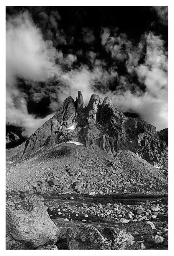 Sulphur Peak and Clouds